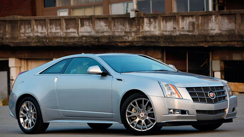 Review 2011 Cadillac Cts Coupe Autoblog