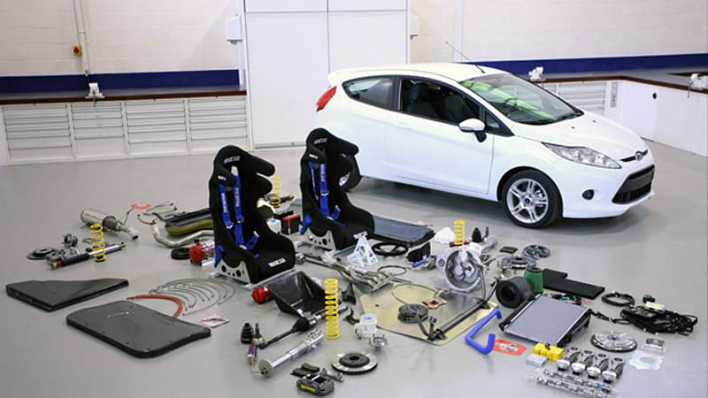Ford Offers 168 Hp R2 Rally Kit For Fiesta Announces Fiesta Sport Trophy Championship Autoblog