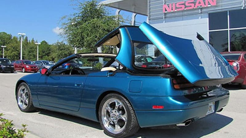Ebay Find Of The Day 1991 Nissan 300zx Convertible Concept Click Above For High Res Image Gallery