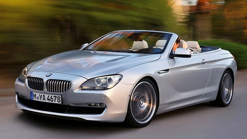 2017 Bmw 650i Convertible A No Show In La