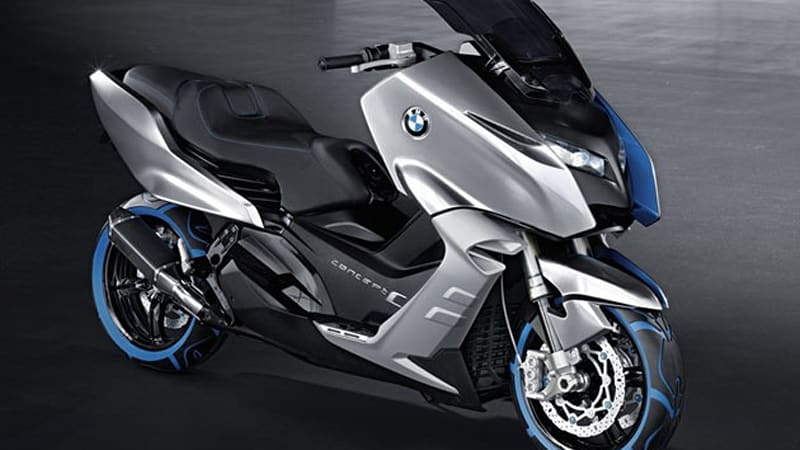 BMW does the twist-and-go with Concept C scooter [w/video] - Autoblog