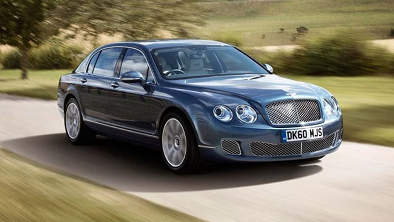 How Very Continental Bentley Launches Flying Spur Series 51 Autoblog