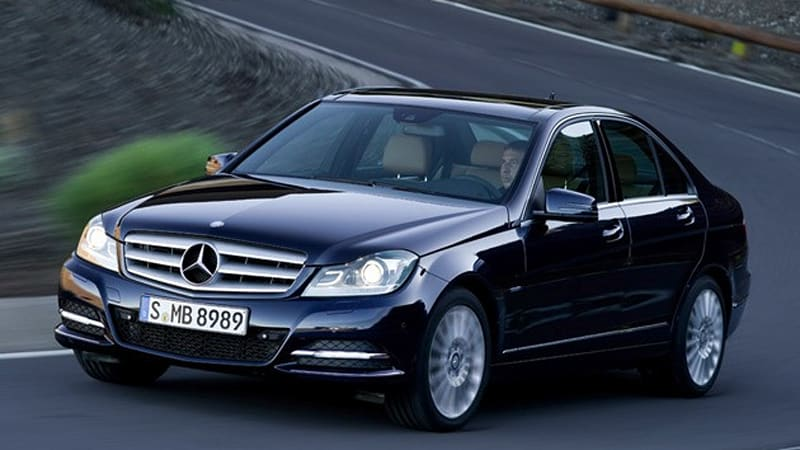 Officially Official 2012 Mercedes Benz C Class Gets New Four