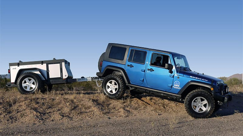Treads Where No Pop-Up Has Tread Before & Review: Jeep Extreme Trail Edition Camper - Autoblog