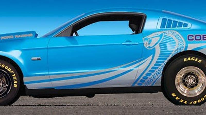 Mustang Cobra Jet >> Ford Racing Officially Announces The 2012 Mustang Cobra Jet Autoblog