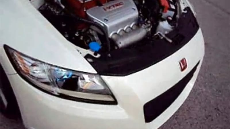 Video: Honda CR-Z gets the K-Series engine it was meant to