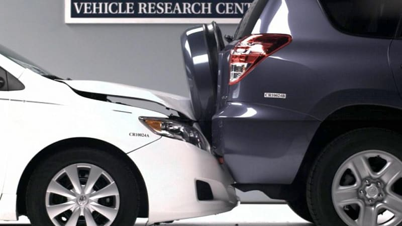 Iihs Tests Small Car Pers Is Safety Compromised By Size