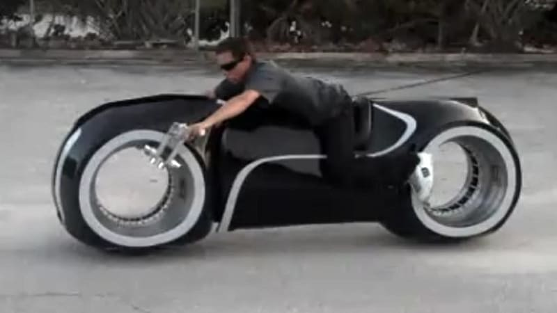 Tron light cycle replica apparently street legal somehow - Replica mobel legal ...