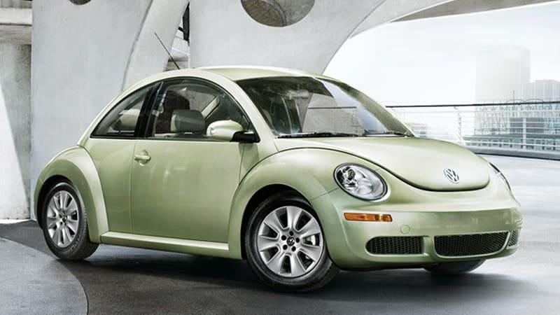 Bizarre Recall Mandates 2010 Volkswagen New Beetle Models Be Replaced With Older Cars
