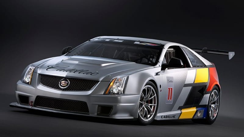 Detroit Preview Cadillac Releases Images Of Cts V Coupe Scca Race Car Ahead Official Debut Autoblog