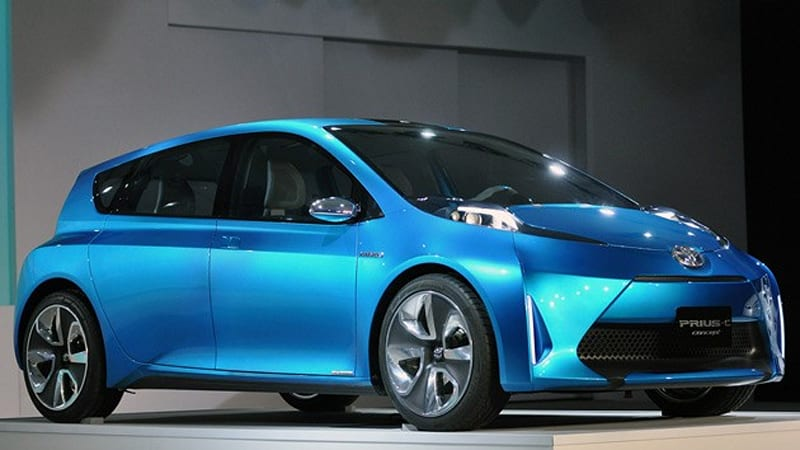 Detroit 2017 Toyota Prius C Concept Is Higher Efficiency In A Smaller Package
