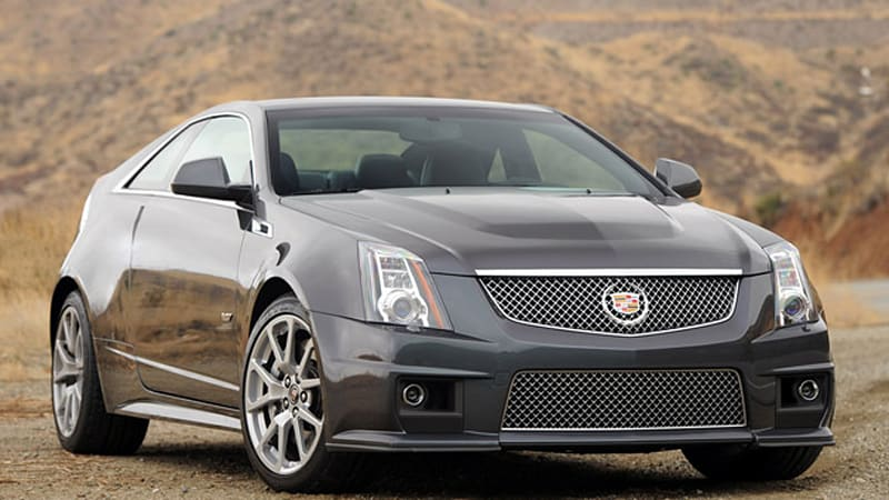 Review: 2011 Cadillac CTS-V Coupe - Autoblog