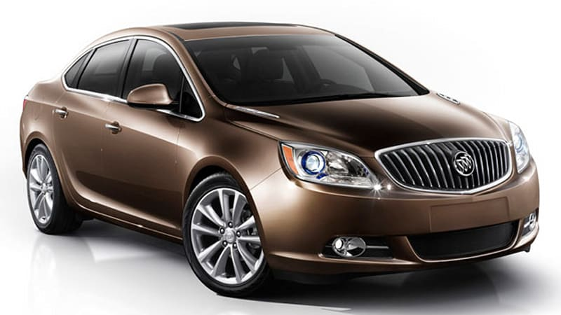 Officially Official 2012 Buick Verano Is One Part Cruze One Part Regal Autoblog