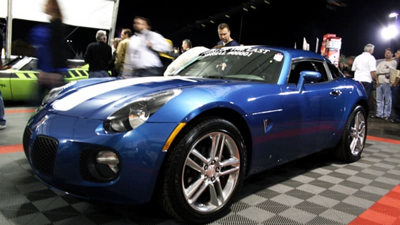 barrett jackson 2011 first and last 2010 pontiac solstice on the block update wvideo