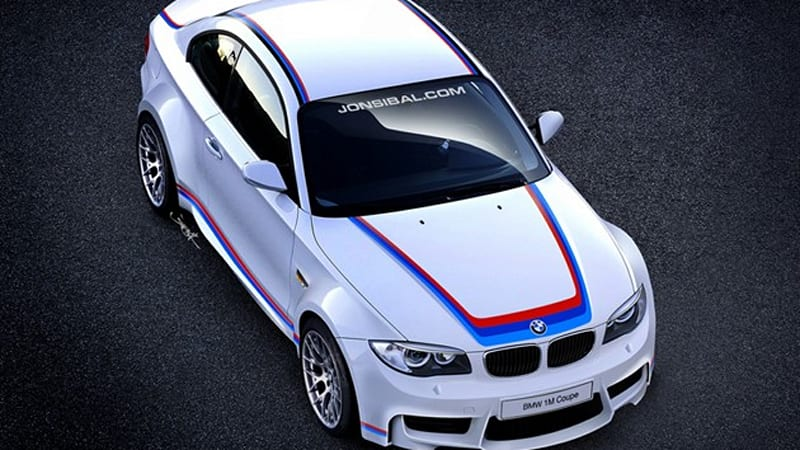 Jon Sibal\'s BMW 1 M Coupe rendering to become real car - Autoblog
