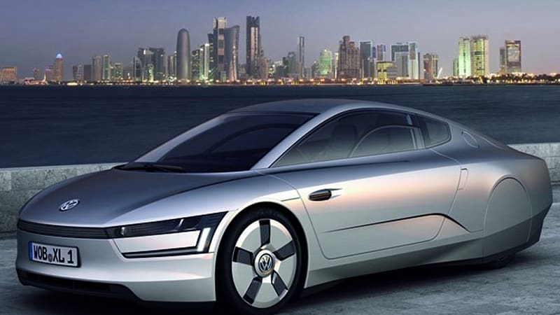 Report: 261-mpg Volkswagen XL1 to enter limited production - Autoblog