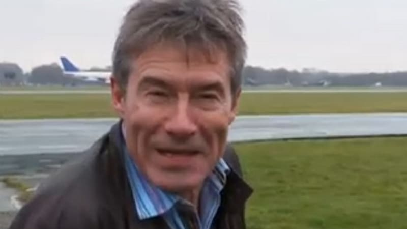 Video: Proof positive of Tiff Needell standing in for The Stig on