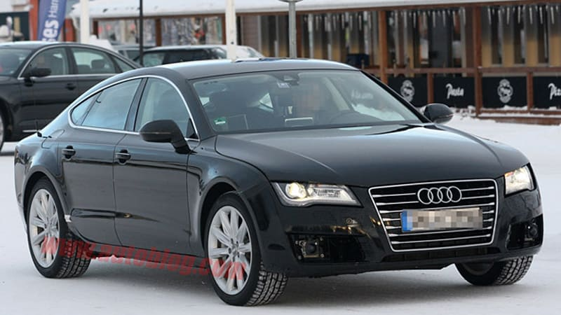 Spy Shots Are You The Audi Rs7 Autoblog