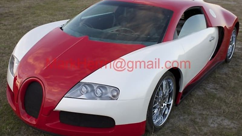 Bugatti Veyron Replica For Sale