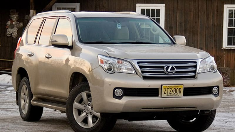 review 2011 lexus gx 460 autoblog. Black Bedroom Furniture Sets. Home Design Ideas