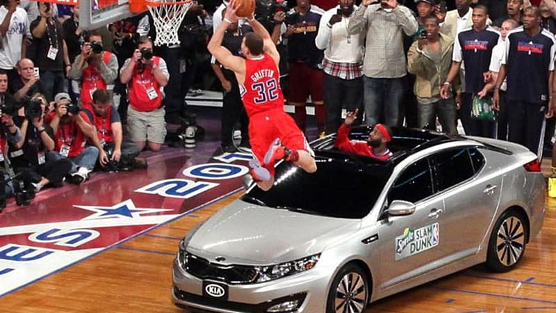 Blake Griffin To Auction Dunked Over Kia Optima On Autotrader W Video