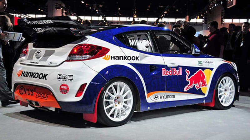 Hyundai Veloster Rally >> Chicago 2011 Hyundai Veloster Rally Car Is Ready To Duel In