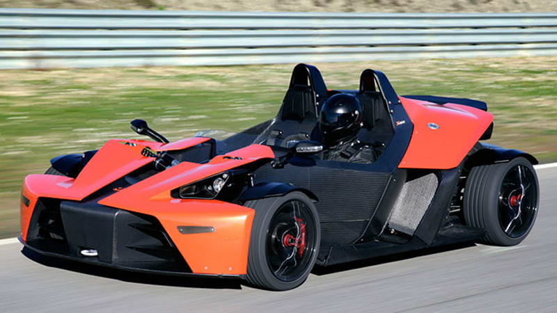 KTM X-Bow finally on sale in North America - Autoblog