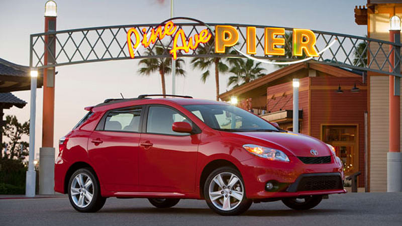 Toyota Debuts Modestly Refreshed 2011 Matrix In Chicago Autoblog