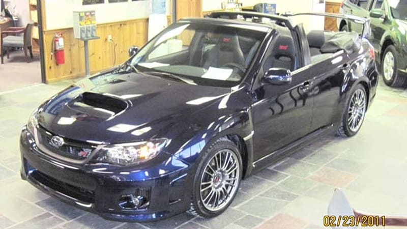 2011 Subaru Impreza WRX STI convertible: Worst idea ever ...