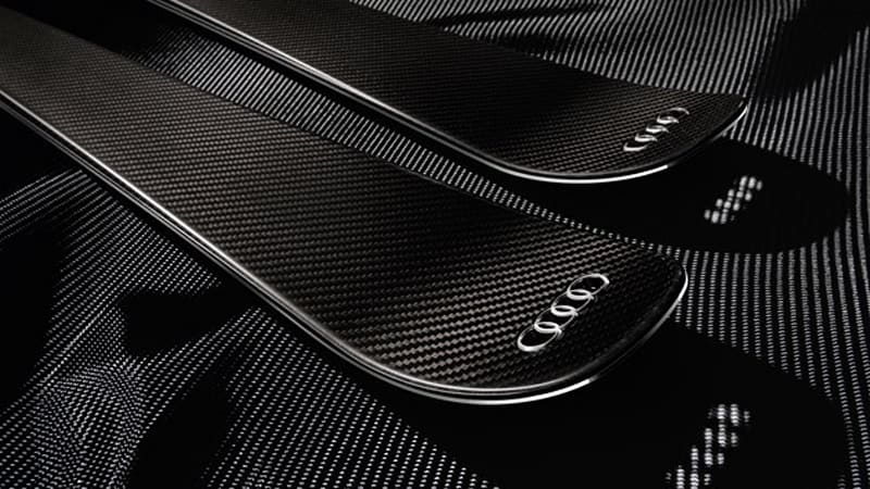 Audi Hits The Slopes With Advanced Carbon Ski Design