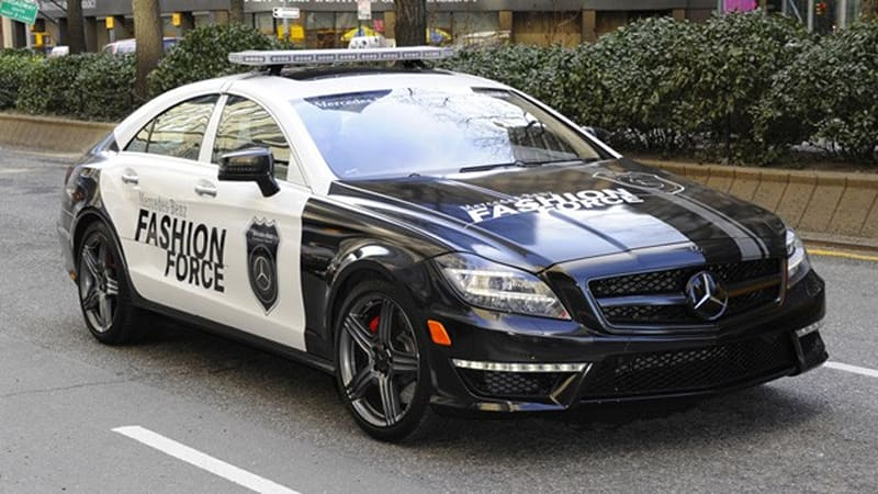 Captivating 2012 Mercedes Benz CLS 63 AMG Called Into Duty For New York Fashion Week    Autoblog