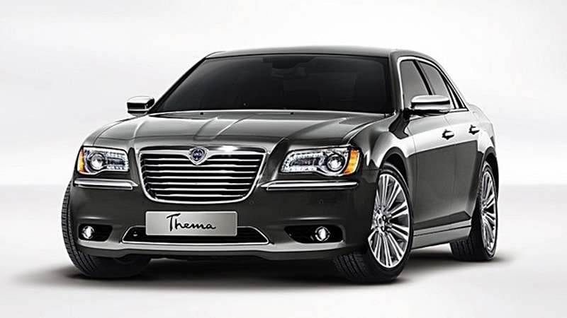 Lancia brings rebadged Chrysler models to join facelifted Delta in ...