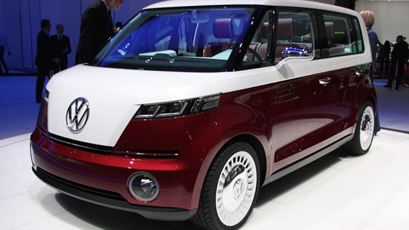 Geneva 2017 Volkswagen Bulli Concept Is A Blast From The Past Re Hashed