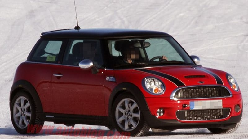 Spy Shots All Wheel Drive Mini Cooper Hybrid Caught Weathering The Arctic