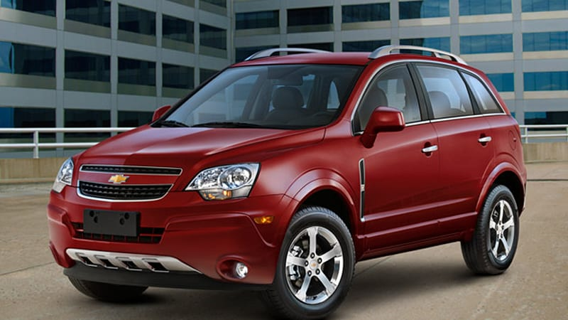 Saturn Vue Chevrolet Captiva Sport Announced For U.S. Fleet Customers    Autoblog