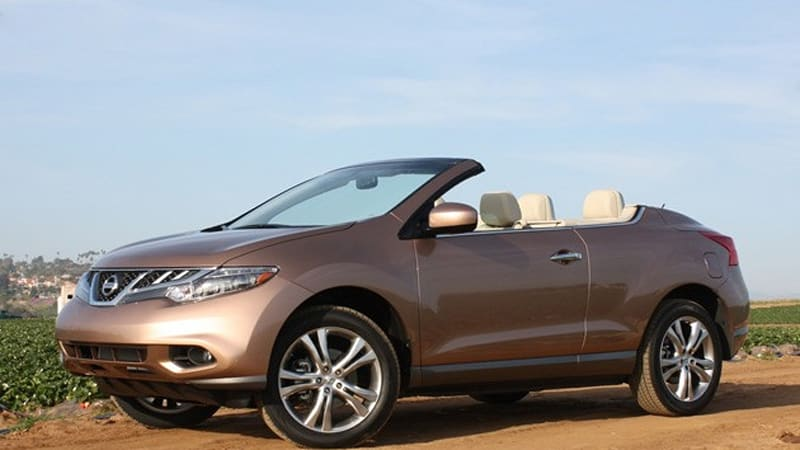 First Drive 2017 Nissan Murano Crosscabriolet