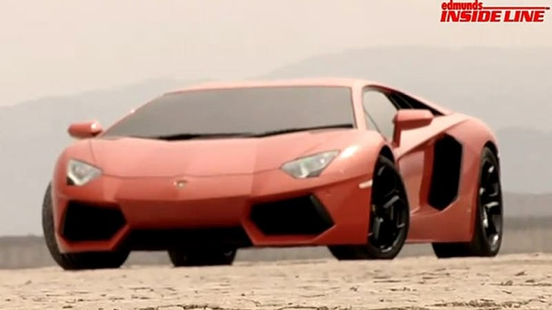 Video Inside Line Takes Us Behind The Scenes With The Lamborghini