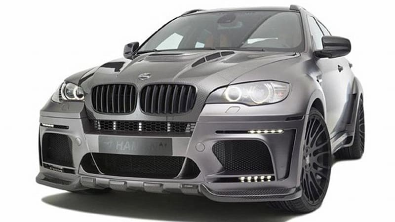 Hamann Gives The Bmw X6 M With More Power Matte Paint And Salmon
