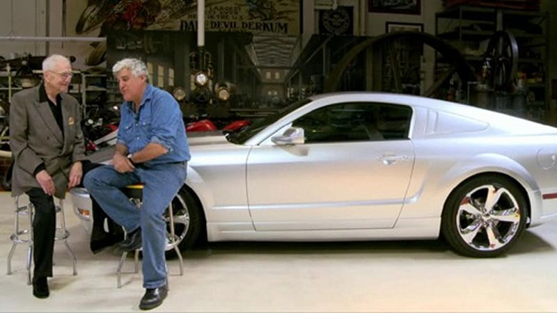 Lee Iacocca Mustang >> Video Jay Leno S Garage Welcomes Lee Iacocca And His