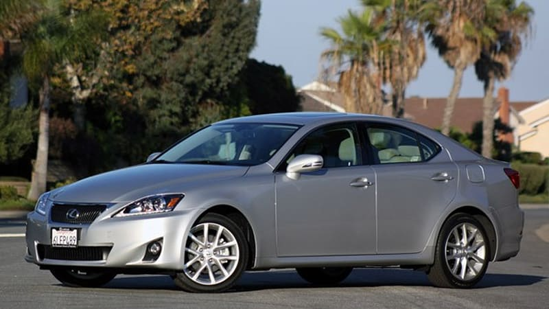review 2011 lexus is 250 awd autoblog. Black Bedroom Furniture Sets. Home Design Ideas