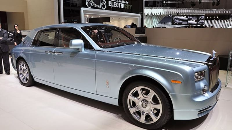 Geneva 2017 Rolls Royce 102ex Concept Is Going To Rock Down Electric Avenue