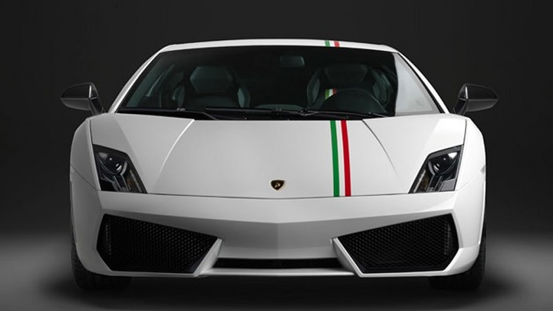 Lamborghini Gallardo Tricolore Commemorates 150 Years Of Italian