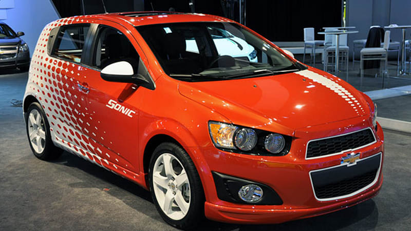 New York 2011: Chevrolet Sonic's Z-Spec accessories add illusion of ...