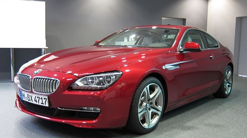 2012 BMW 6 Series Coupe gets early unveiling ahead of Shanghai ...