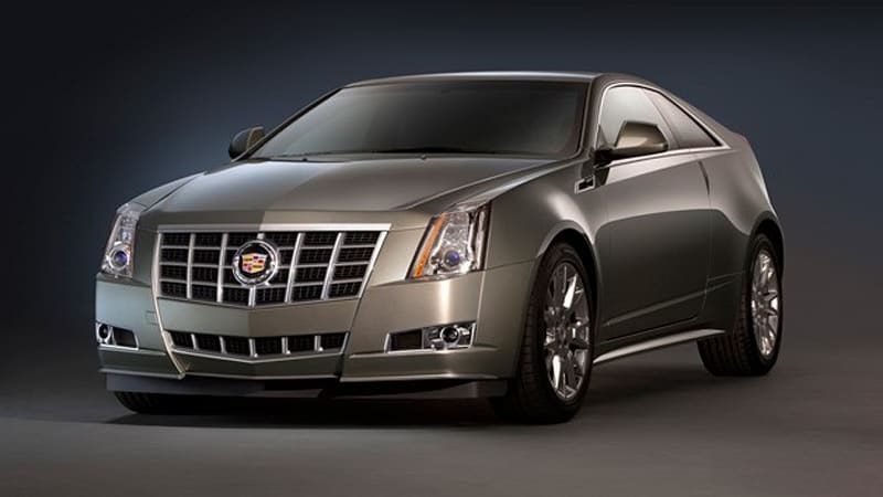 2012 Cadillac CTS line gets new grille, more powerful V6 | Autoblog