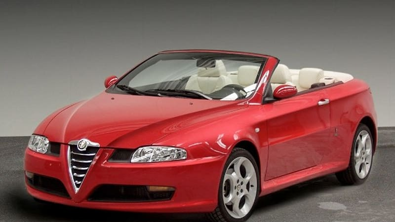 alfa romeo gt cabriolet unearthed as the project that could have saved bertone autoblog. Black Bedroom Furniture Sets. Home Design Ideas