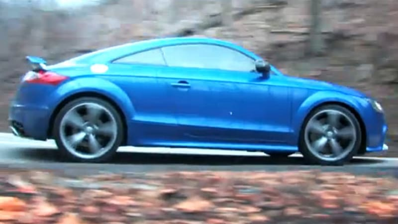 Audi 0 60 >> Video Audi Tt Rs Blasts From 0 60 In 3 6 Seconds With Car
