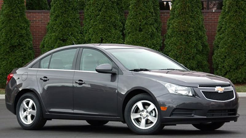 Chevy Cruze Sedans Recalled For Improperly Fastened