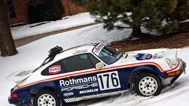 Ebay Find Of The Day 1989 Porsche 911 Rothmans Rally Car Tribute W