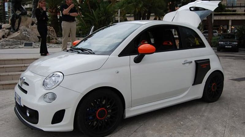 Awesome Mid Engine Rwd Abarth 500 Motore Centrale Revealed At Top